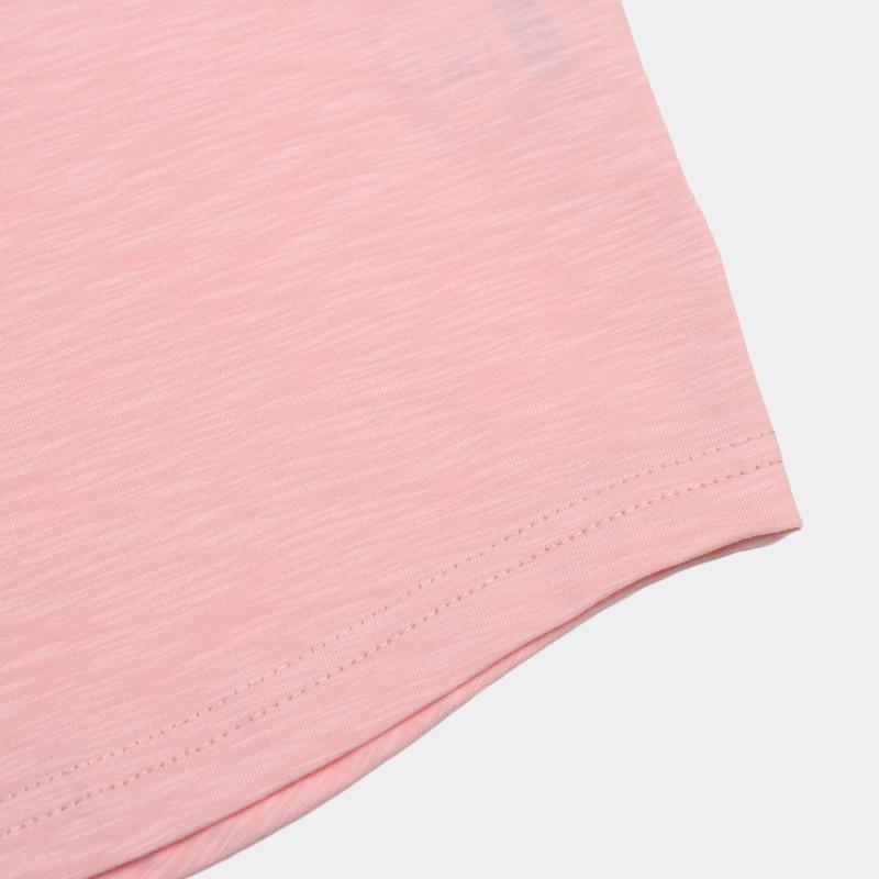 Футболка с вышивкой Drogba | Chelsea розовый меланж