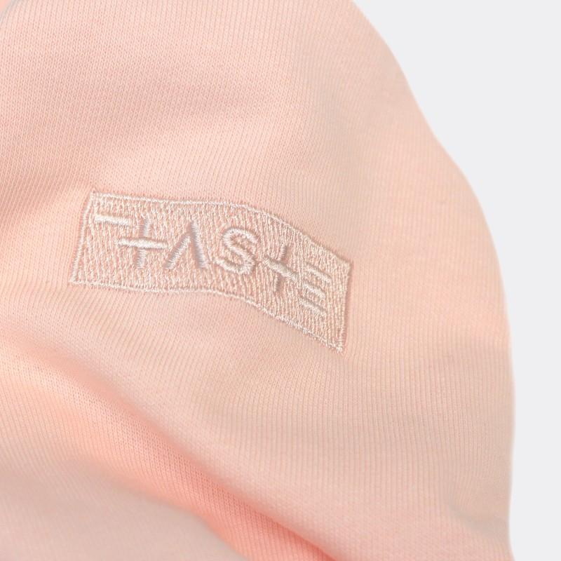 Толстовка с капюшоном SH сolor block pink / brown