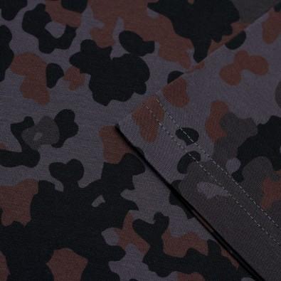 Футболка Fleck Camo Reactive dyed графит