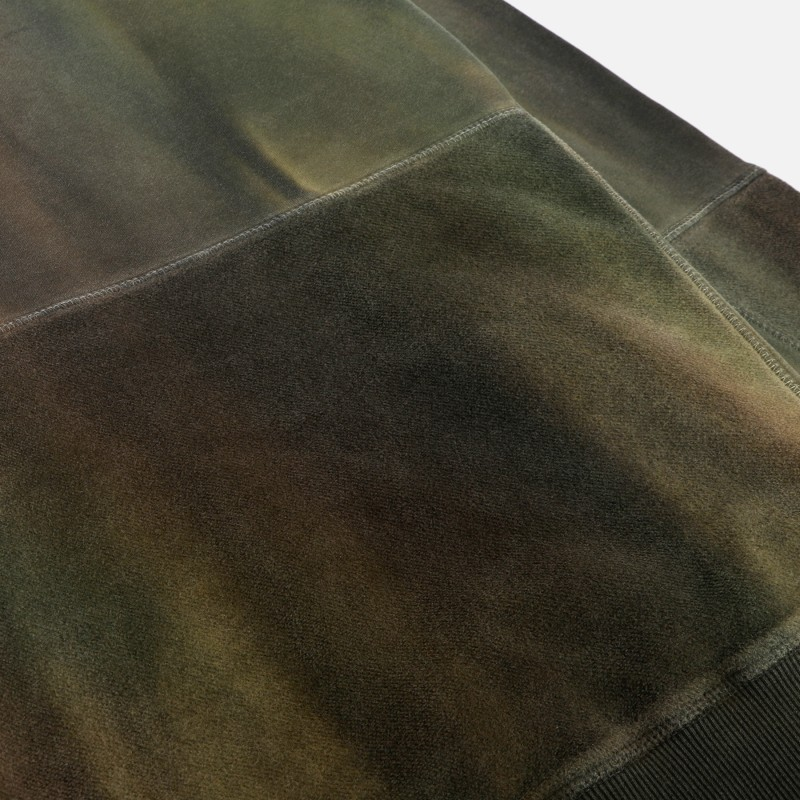 Толстовка с вставками Terry Bside Aura Dyed