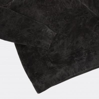 Толстовка Unif washed с принтом Witch on fire black