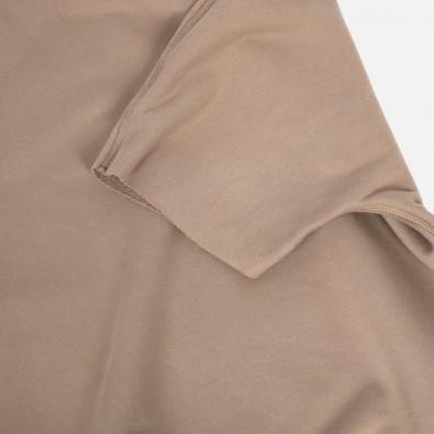 Свитшот с короткими рукавами свободного кроя Fusion brown