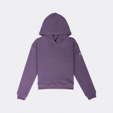 Худи Alice crew purple