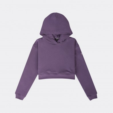 Худи Ersa cropped purple