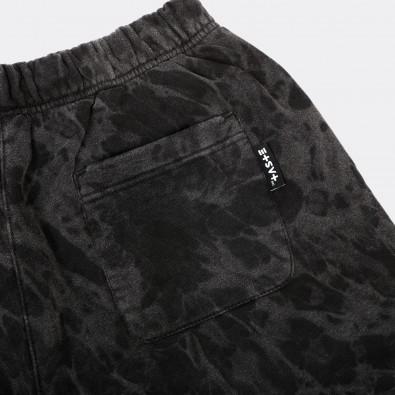 Шорты Unif basic soft washed black