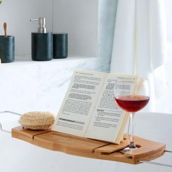 Полка / столик для ванной Aquala дерево