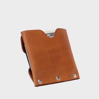Кожаный кошелек / кардхолдер Dobb (медовый)