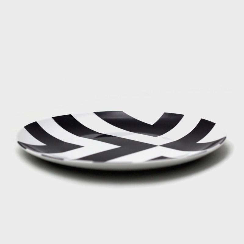 Набор тарелок с рисунком Edge