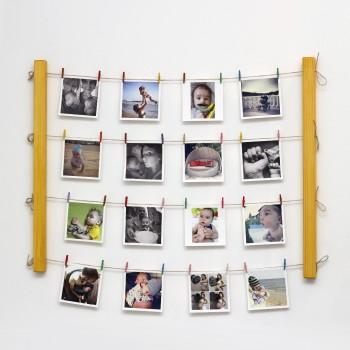Настенное панно для фотографий Fotolder (желтое)