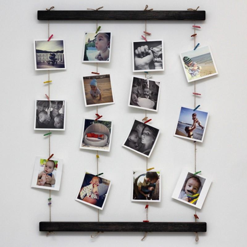 Настенное панно для фотографий Fotolder (черное)