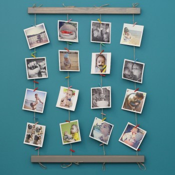 Настенное панно для фотографий Fotolder (серое)